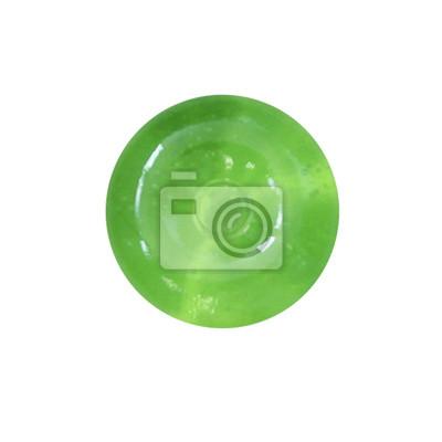 stock-Foto-grün-Süßigkeiten-Lutscher-isoliert