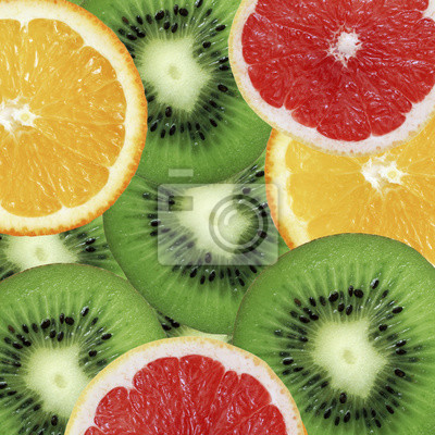 stock-Foto-Hintergrund-Obst-Grapefruit-Kiwi-und-Orange-Frucht