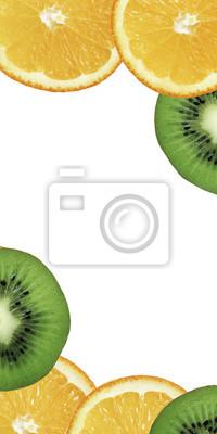 stock-Foto-Obst-exotische-Orange-Grapefruit-auf-dem-weißen-Hintergrund-Top-View
