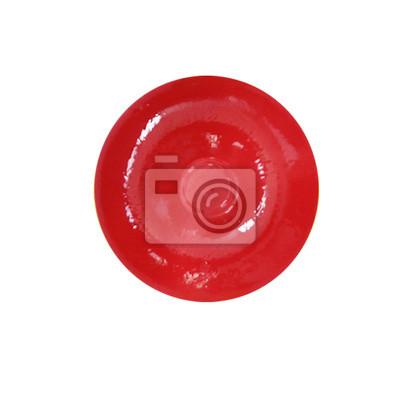 Stock-Foto-Red-Candy-Lollipops-isoliert
