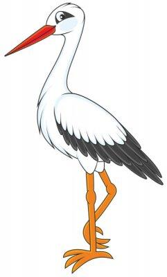 Sticker Storch