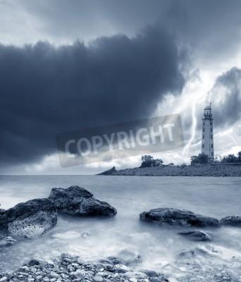 Sticker storm on the sea