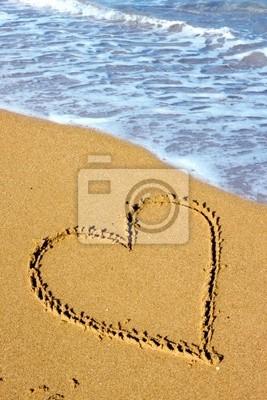 Strand Liebe