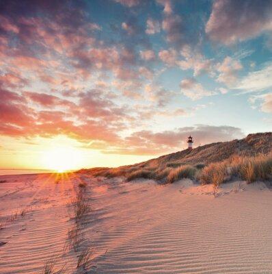 Sticker Strand und Dünenlandschaft am Sylter Ellenbogen
