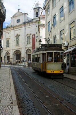 Sticker Straßenbahn - Lisbona