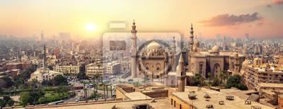 Sticker Sultan Hassan in Cairo