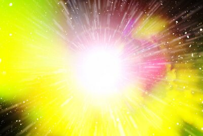 Supernova. Wissenschaftsthema. Raum.