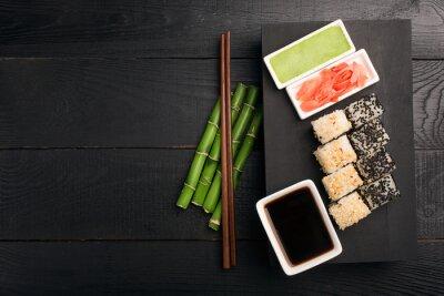 Sticker Sushi rollen mit Fisch