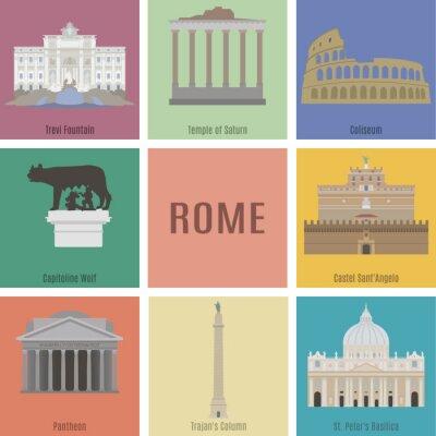 Sticker Symbols of Rome