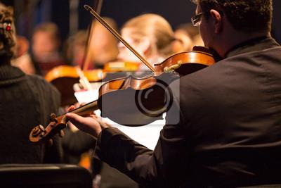 Sticker Symphonieorchester der Durchführung.
