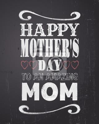 Tafel Muttertag Design-