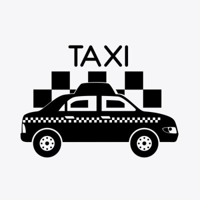 Sticker Taxi-Design.