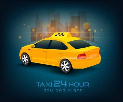 Sticker Taxiwagen