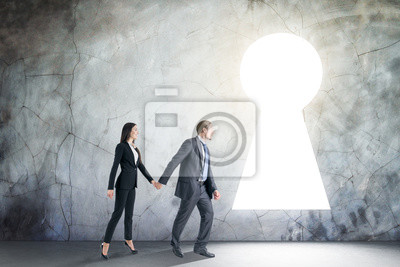 Teamwork, dream and opportunity concept