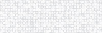 Sticker Technology banner design with white and grey arrows. Abstract geometric vector background with dot circle pattern for wide banner
