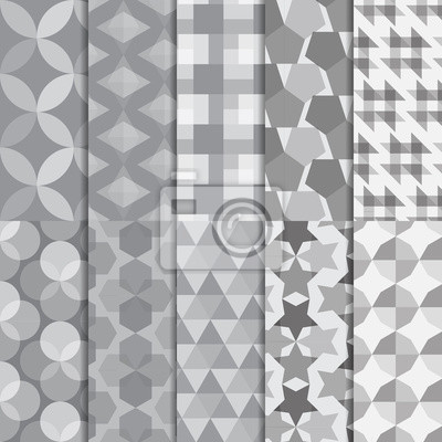 ten seamless with geometry shape and design