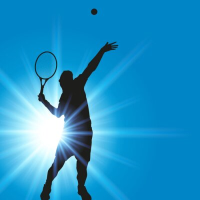 Sticker TENNIS-Service