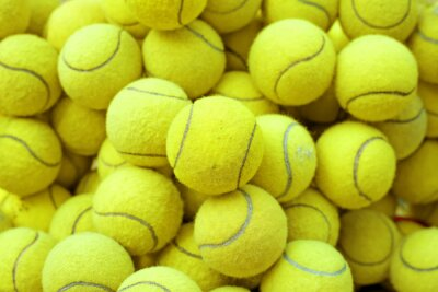 Sticker Tennisball