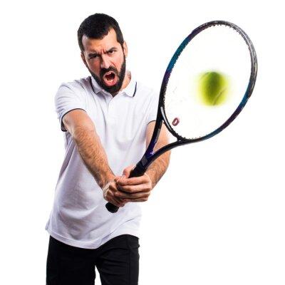 Sticker Tennisspieler