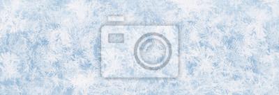 Sticker Textur blaues Eis, Eisfläche, Winter Hintergrund für Werbeflächen