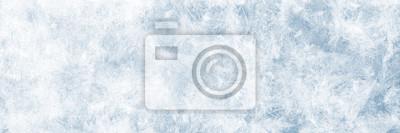 Sticker Textur blaues Eis, Winter Hintergrund für Werbeflächen