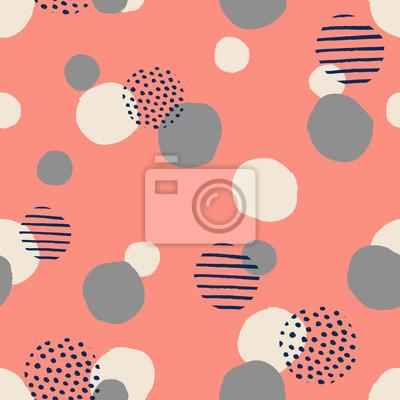 Textured Dots Pattern
