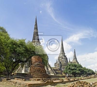 Thailand - Ayutthaya: Wat Phra Sri Sanphet Tempel
