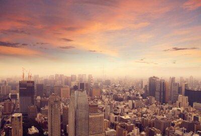 Sticker Tokyo Skyline