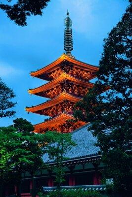 Sticker Tokyo-Tempel
