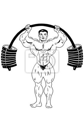 Training mit großen Gewichten