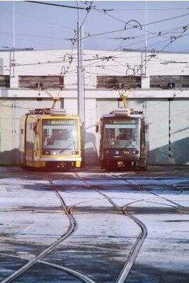 Sticker Tram depot