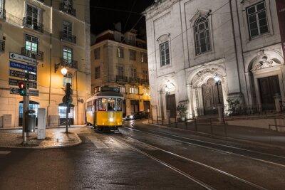 Sticker Tramway Lisbonne Portugal