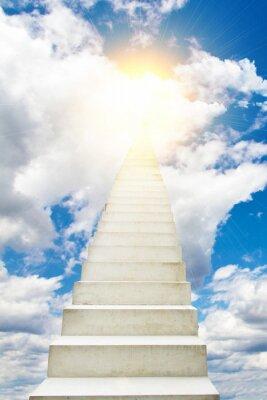 Sticker Treppe in den Himmel