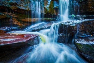 Sticker Tropischer Wasserfall