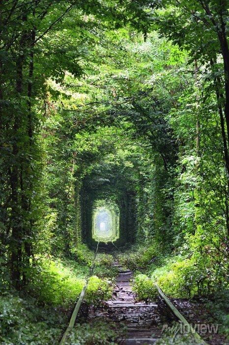 Sticker Tunnel der Liebe
