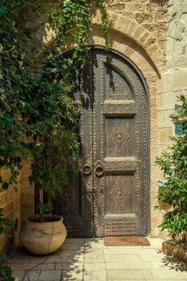 Sticker Tür
