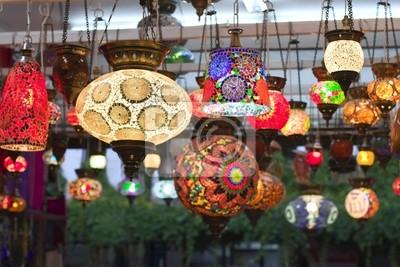 Türkische handgemachte Lampen