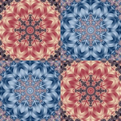 Sticker Two-tone pattern with petals and square ornament. You can use it for invitations, notebook covers, phone case, postcards, cards, ceramics, carpets. Artwork for creative design.