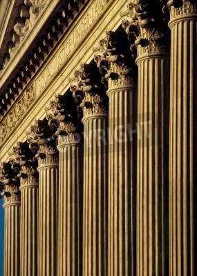 Sticker U.S. Supreme Court Building facade and columns