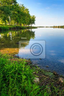 Ufer des Sees