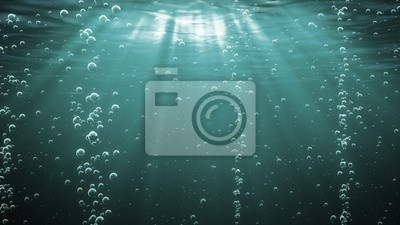 Underwater with bubbles. Great for backgrounds.