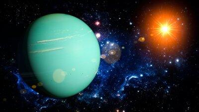 Sticker Uranus
