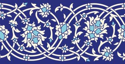 Sticker Usbekistan Nahtlose Grenze