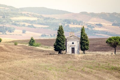 Sticker Val D'orcia im Nachlass