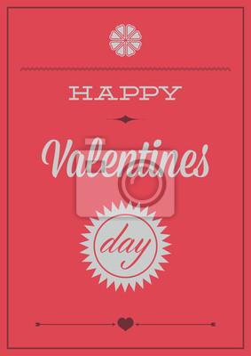Valentinstag. Poster