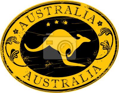Vector Briefmarke - Australien