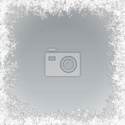 Sticker Vector Frozen Background