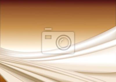 Vector Gold Seide Stoff abstrakten Hintergrund