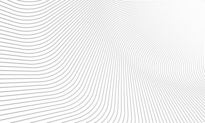 Sticker Vector Illustration of the pattern of gray lines on white background. EPS10.