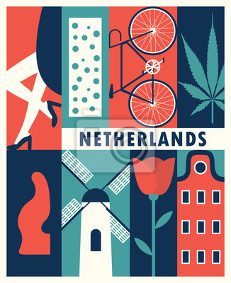 Vector Netherlands background